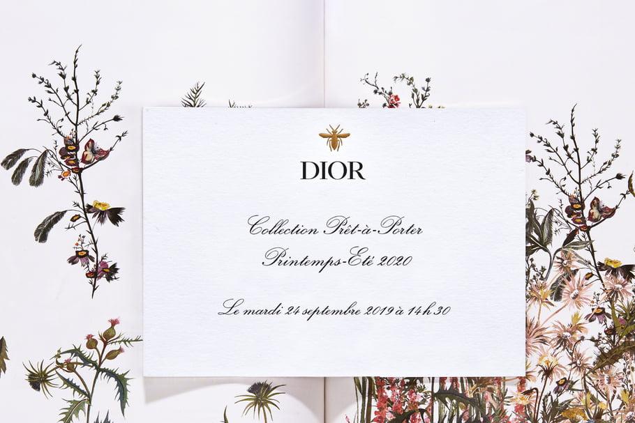 Fashion weekde Paris: Regardez en direct le défilé Dior printemps-été 2020