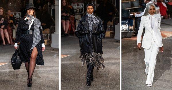 Défilé Automne-hiver 2019-2020 : Tommy Hilfiger et Zendaya font le show