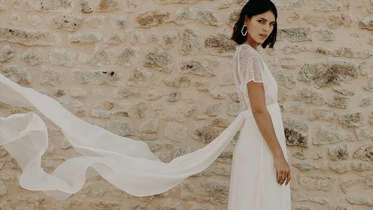 Mariage : Camille Marguet explique sa collection de robes de mariée 2020