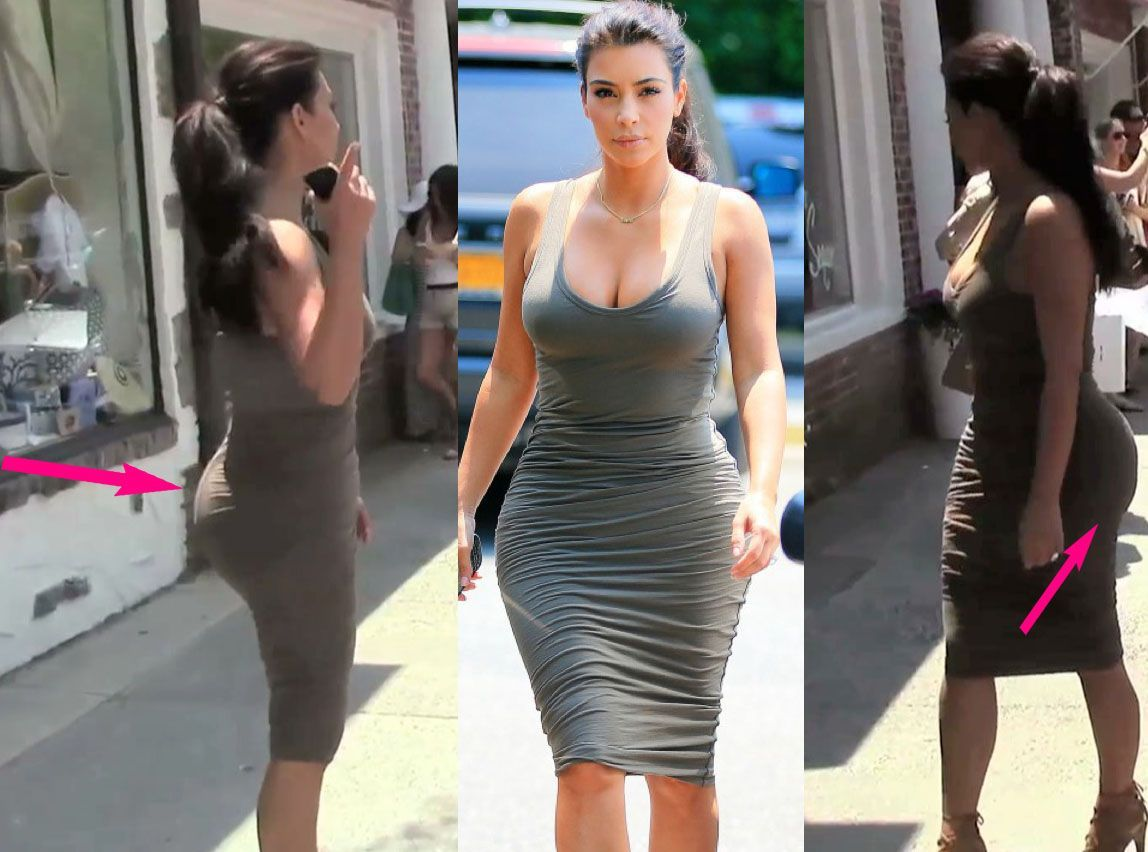 Exclu Vidéo : Les fesses XXXL de Kim Kardashian sont de retour ! Fake booty ?
