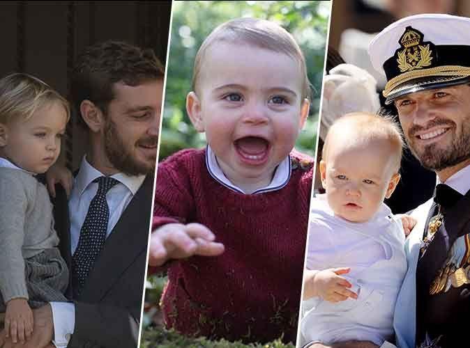 Photos : Prince Louis, Prince Gabriel, Francesco Casiraghi… tous les plus beaux royal babies !