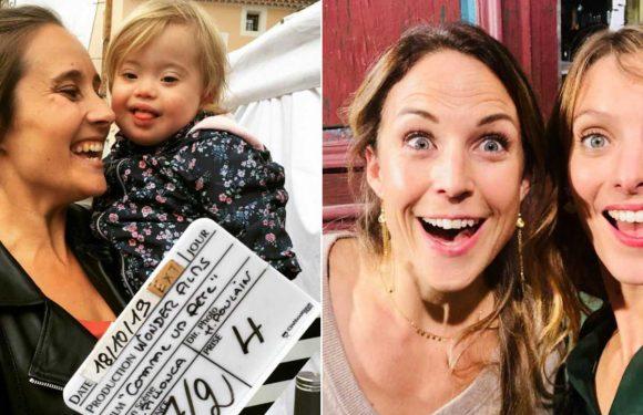 Julie de Bona et son adorable partenaire (Comme un père), Elodie Varlet et Aurélie Vaneck hilares sur PBLV… les coulisses des tournages séries de la semaine (PHOTOS)