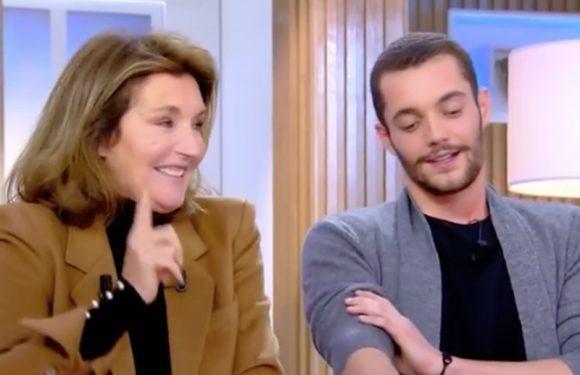 Louis Sarkozy extrêmement gêné sur le plateau de C à vous : sa mère l'a mis très mal à l'aise