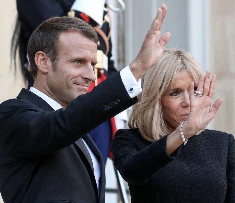 Brigitte et Emmanuel Macron menacés de mort : un gilet jaune condamné à la prison