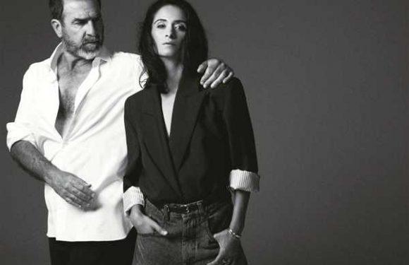 Rachida Brakni et Eric Cantona, le bien-être dans la peau