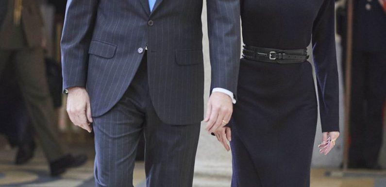 Royal Style – Letizia mise sur une nouvelle marque pour un total look black réussi