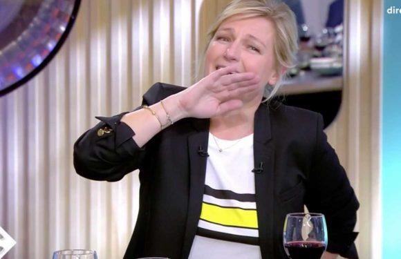 """""""Votre verre est déjà terminé"""" : Kad Merad se moque de la bonne descente d'Anne-Elisabeth Lemoine (VIDEO)"""