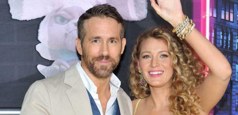 """""""J'ai créé des robes en papier"""" : le confinement de Ryan Reynolds avec ses filles et sa belle-mère"""