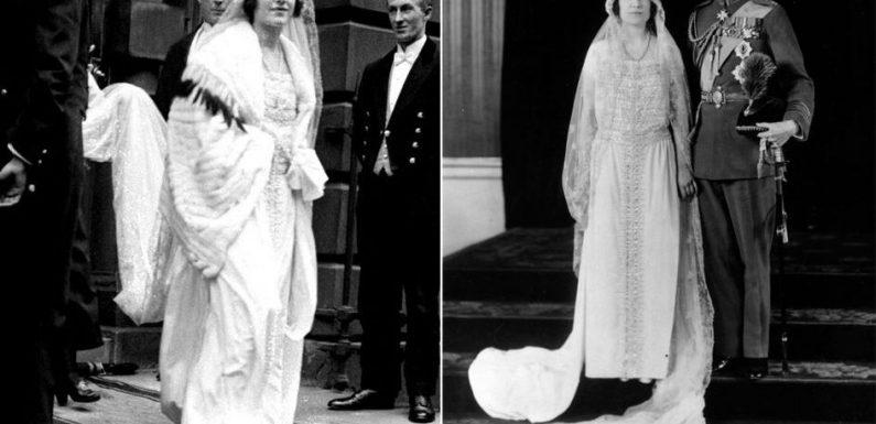 Royal Style – Zoom sur la robe de mariée de la mère de la reine Elizabeth II