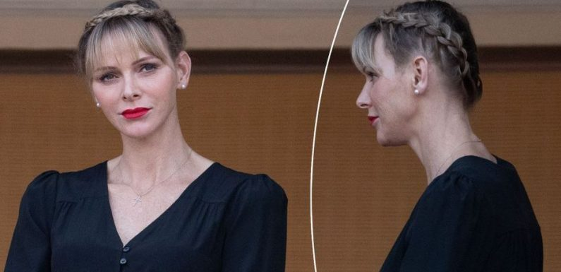 Royal Style – La princesse Charlène a réadopté la frange