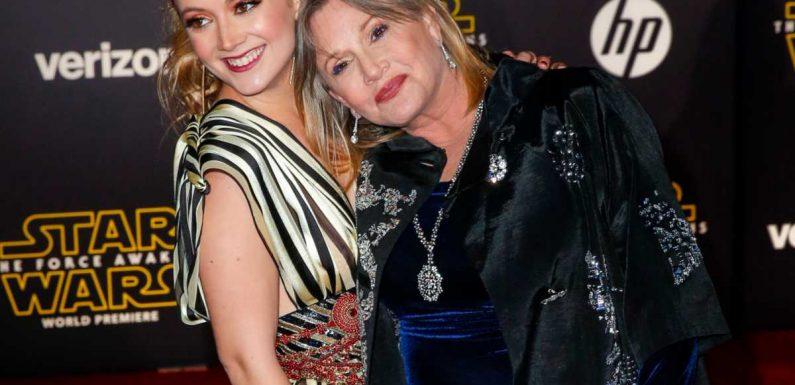 PHOTO Carrie Fisher : devenue maman pour la première fois, sa fille Billie Lourd lui rend un hommage poignant