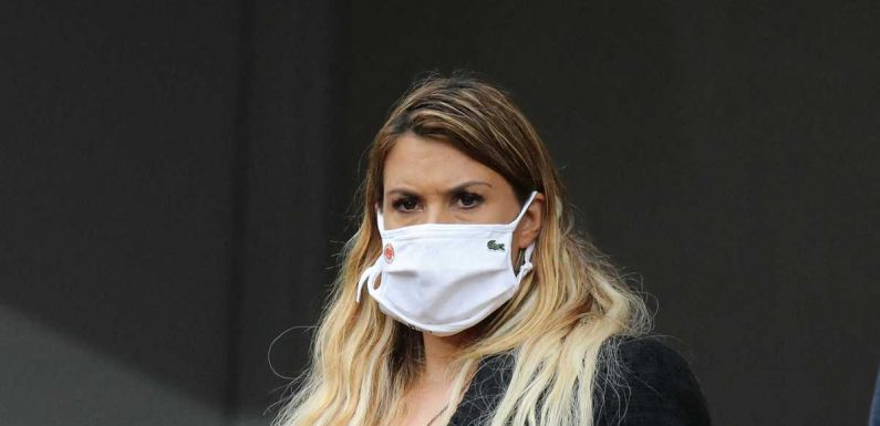 PHOTO – Marion Bartoli bien enceinte dans les travées de Roland-Garros