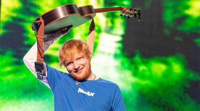 Les anciens managers d'Ed Sheeran voulaient qu'il se teigne en brun