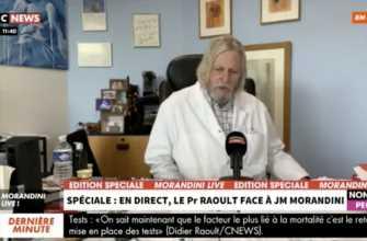"""Didier Raoult : """"Je parle avec le président de la République Emmanuel Macron"""""""