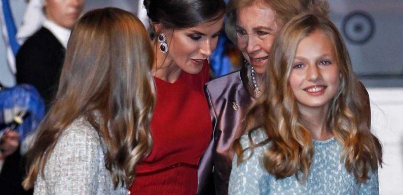 Letizia d'Espagne cruelle avec la reine Sofia : elle lui interdit de voir ses petites-filles