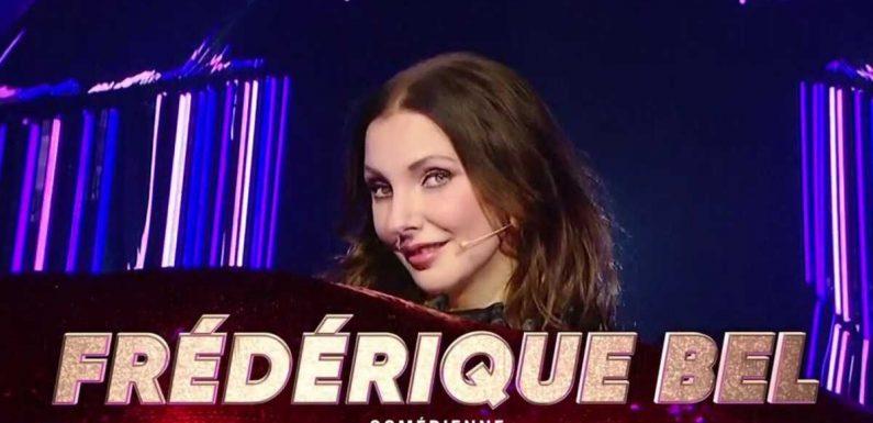 Mask Singer : Frédérique Bel sous le costume de la bouche, l'actrice est la deuxième star éliminée !