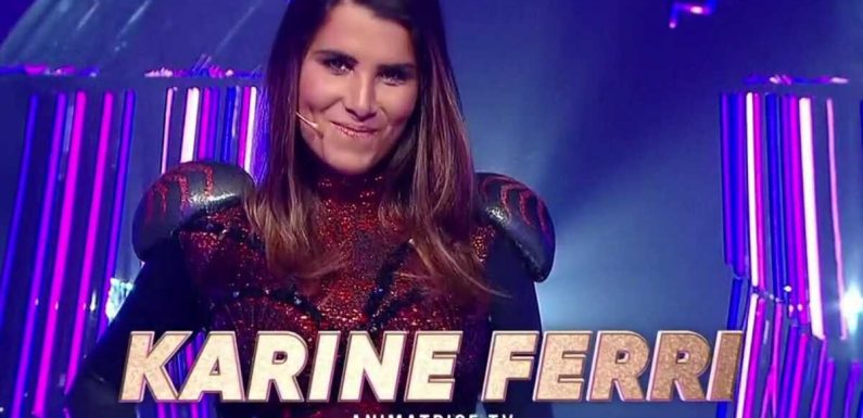 Mask Singer : Karine Ferri se cachait sous le costume de l'araignée !
