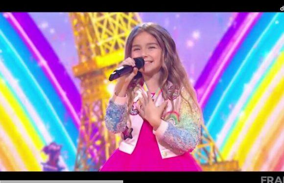 Eurovision Junior : Valentina, la candidate française, remporte le concours