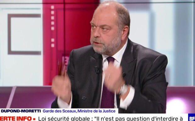 VIDÉO – Éric Dupond-Moretti: «Je ne suis pas le paillasson sur lequel on s'essuie!»