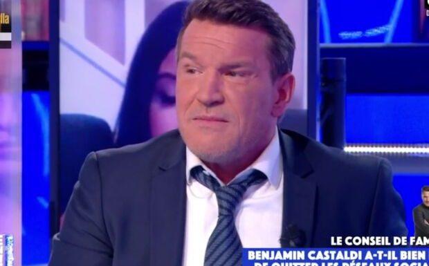 VIDÉO – «On va éventrer ton petit dernier»: Benjamin Castaldi écœuré, témoigne des menaces qu'il a subies