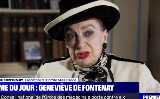 «Je peux partir tranquille»: Geneviève de Fontenay très émue après Miss France 2021