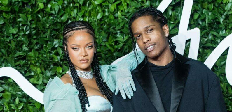 Rihanna et A$AP Rocky complices à la Barbade, voici comment ils ont célébré leur premier Noël ensemble