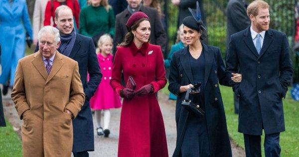 Meghan et Harry ont échangé des cadeaux de Noël avec Kate et William