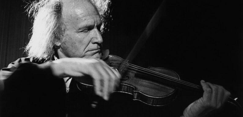 Ivry Gitlis, violoniste flamboyant et virtuose, est mort à 98 ans