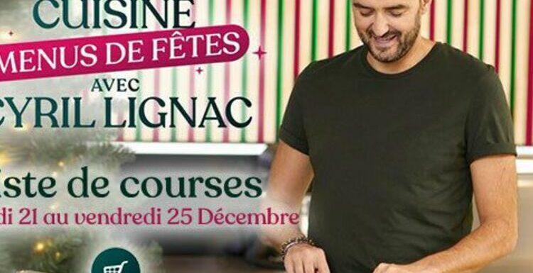 """""""Tous en cuisine"""" : la recette et la liste des ingrédients du lundi 28 décembre de Cyril Lignac"""