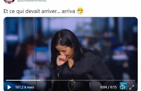 Une présentatrice du journal sur France 24 éternue en direct en évoquant…leCovid-19