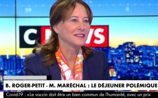 VIDÉO – Ségolène Royal met son grain de sel dans l'affaire du déjeuner avec Marion Maréchal