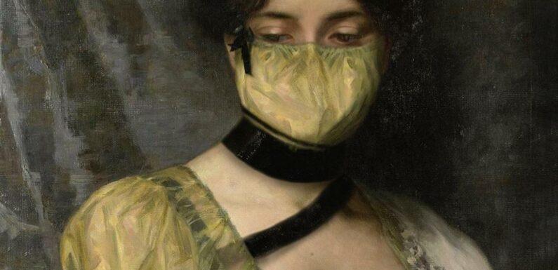 Sur Instagram, les grands portraits de l'histoire de l'art sortent masqués