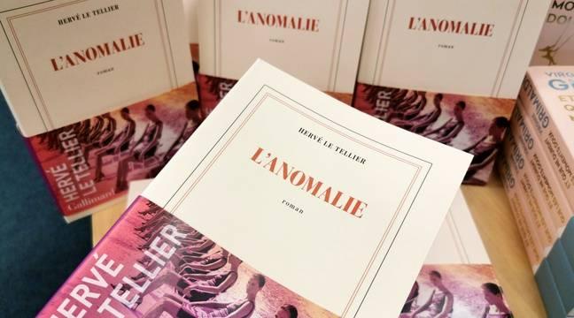 «L'Anomalie» d'Hervé Le Tellier, prix Goncourt 2020, fait un carton