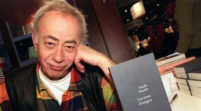 L'écrivain franco-grec Vassilis Alexakis, prix Médicis en 1995, est mort