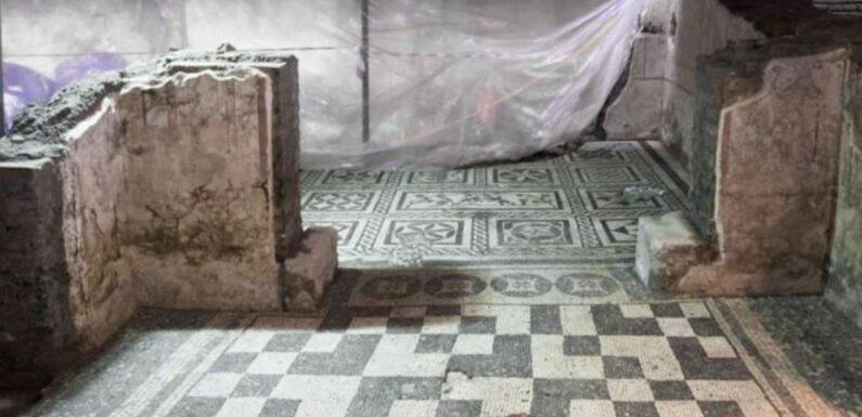 Une incroyable villa antique révélée par la construction d'un métro à Rome