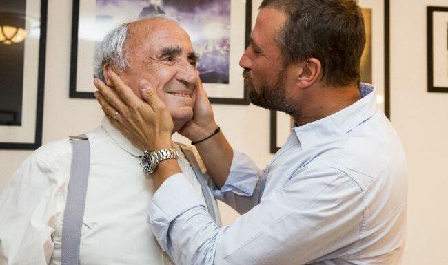 """Alexandre Brasseur de retour sur Instagram, tendre hommage à son père : """"Encore un soir"""""""