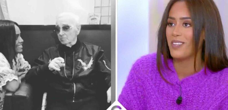 Amel Bent : ce précieux conseil que lui a donné Charles Aznavour avant sa mort (VIDEO)