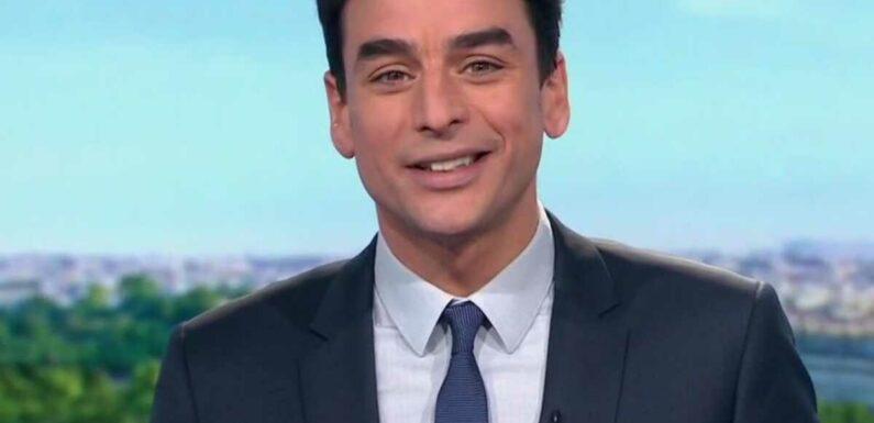 Julian Bugier se confie sur ses relations avec Laurent Delahousse, l'autre beau gosse de l'info