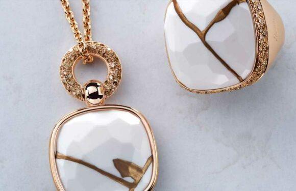 Pomellato upcycle et révèle la beauté de ses pierres précieuses abimées grâce à l'art du kintsugi | Vogue Paris