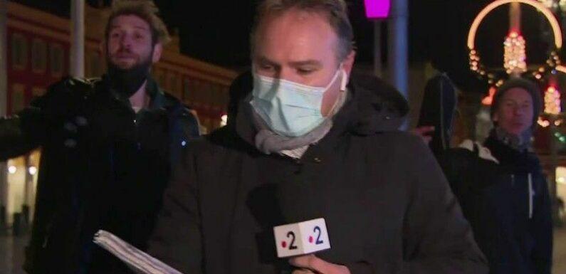 Zapping : Deux hommes perturbent le duplex du JT de France 2