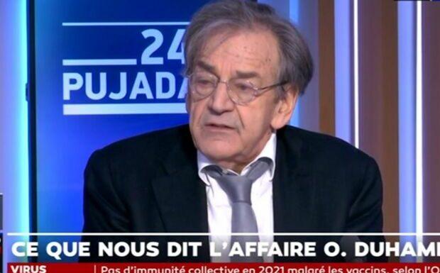 Affaire Olivier Duhamel: «Un lynchage» estime Alain Finkielkraut
