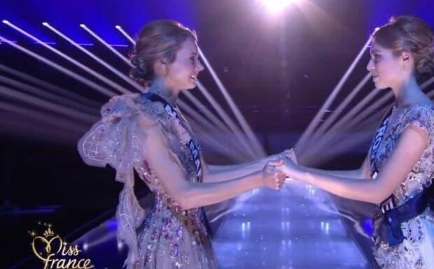 Miss France 2021 – Amandine Petit et April Benayoum: ce qu'elles se sont dit à l'annonce de la gagnante