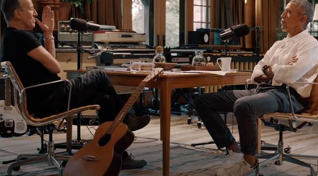 Obama et Springsteen discutent des injustices raciales dans un podcast