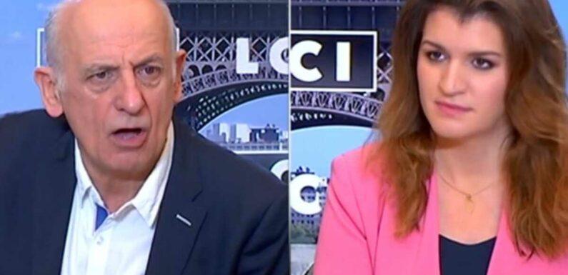 """""""Ça vous gêne ?"""" : tensions entre Marlène Schiappa et Jean-Michel Aphatie"""