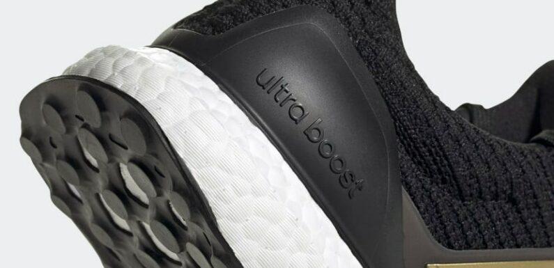 Les adidas Ultraboost noires et dorées sont les chaussures de running les plus cool de la planète. Point barre.