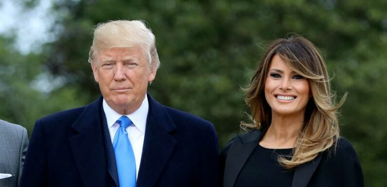 Melania Trump se réjouit d'une cure forcée de Donald Trump