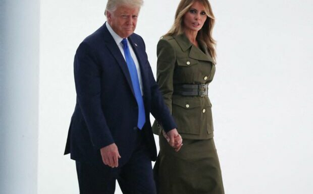 Donald et Melania Trump échappent de justesse à une expulsion de Mar-a-Lago