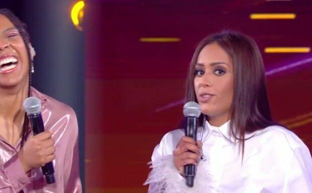 Duos Mystères: Amel Bent bouleversante face à sa sœur «qui encaisse les coups dans l'ombre»
