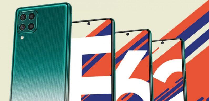 Samsung Galaxy F62 : Samsung va officialiser un milieu de gamme exceptionnel