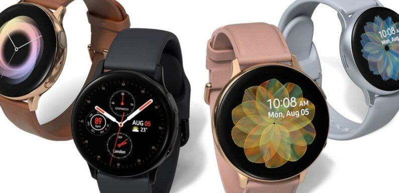 Le Samsung Galaxy Watch 4 nous dévoile sa fiche technique